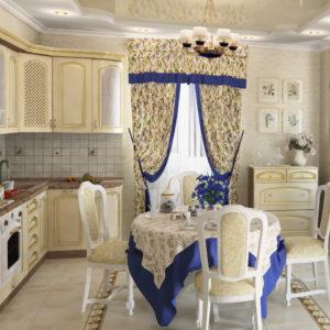 Дизайн кухни в прованском стиле