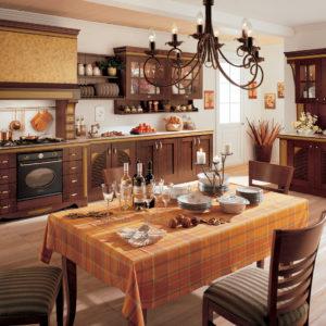 Дизайн-проект кухни в стиле кантри