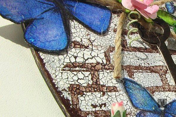Идея декора с бабочками