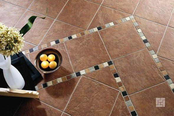 Плитка и мозаика на полу
