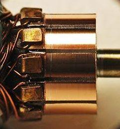 Коллектор ротора двигателя
