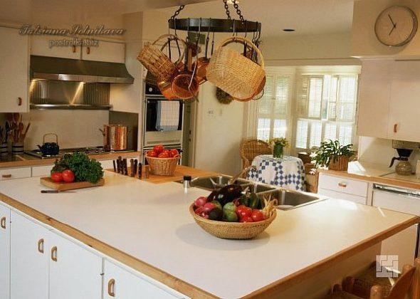 Кухня в стиле скандинавский кантри