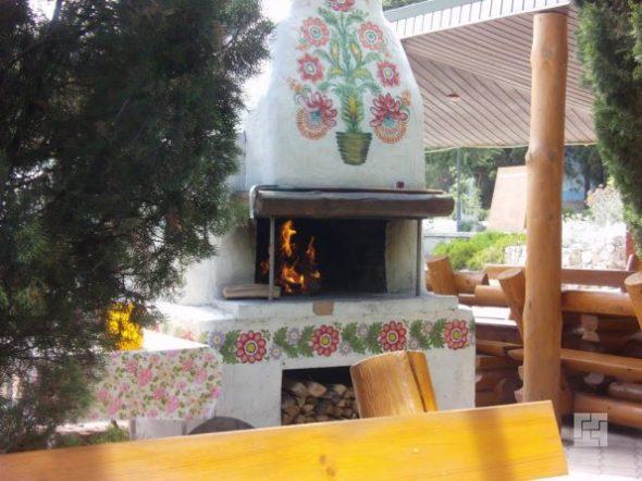 Русская печь с плитой для приготовления пищи