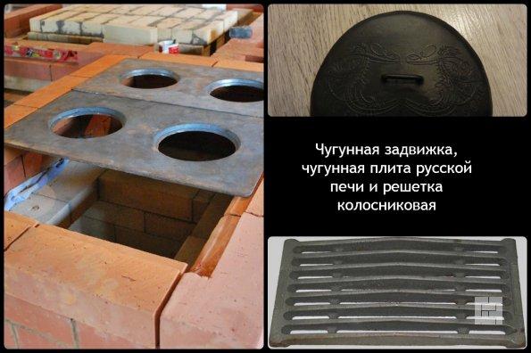 Русская печь своими руками размеры фото 150