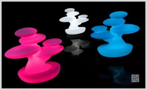 Напольные светодиодные декоративные светильники «Бонсай»