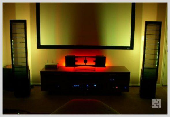 Светодиодная подсветка зоны ТВ