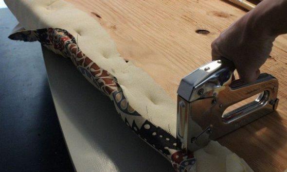 Обивка тканью