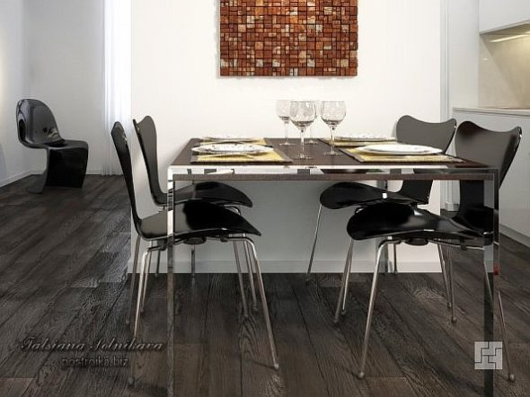 Светлый или темный пол (деревянные полы, ламинат) в дизайне интерьера?
