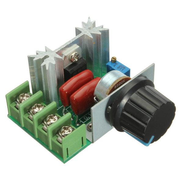 Регулятор мощности с маленьким радиатором