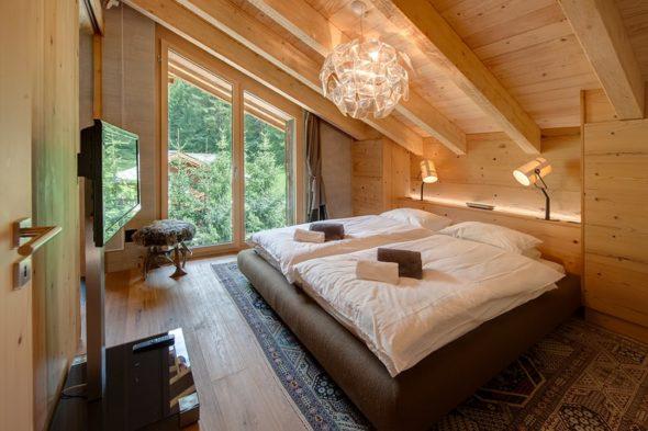 Спальня-мансарда