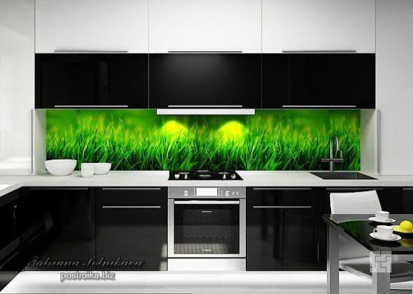 Стеновая панель на кухне