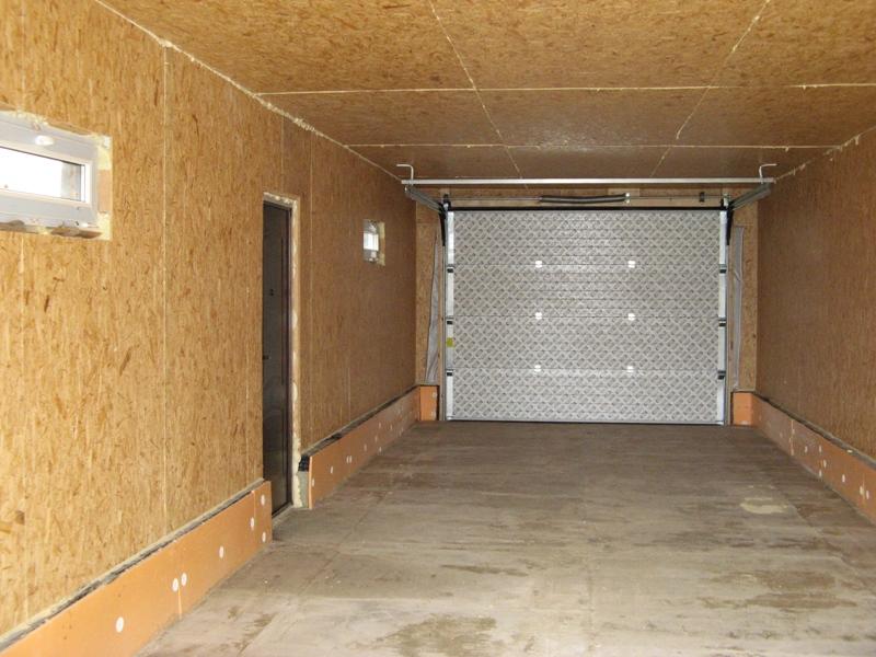 Фото внутренняя отделка гаража своими руками