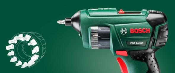 Бытовая отвёртка Bosch PSR Select