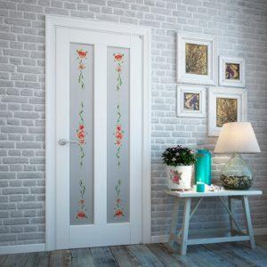 Декор межкомнатной двери