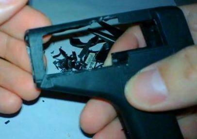 Корпус пистолета без передней части