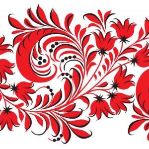 Орнамент для рисования на стене 3