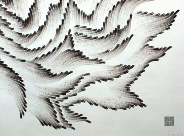 Техника <em>как нарисовать кафе карандашом поэтапно</em> рисования пальцами