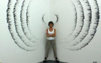 пальцевое рисование на стенах