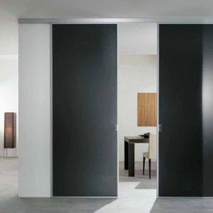 Раздвижные двери в стиле хай-тек