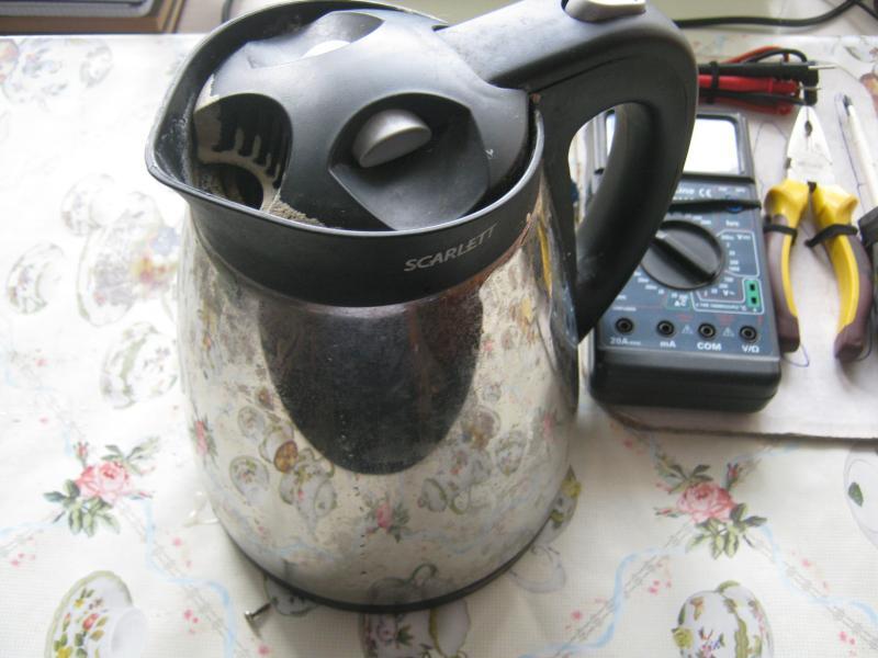 Как починить электрический чайник