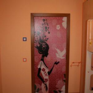 Рисунок на межкомнатной двери