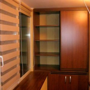 Балконный комбинированный шкаф