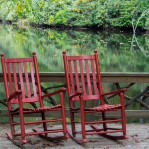 Качалка из готовых стульев