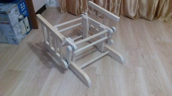 Маятниковый механизм глайдера (без сиденья)