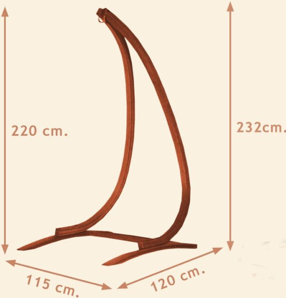 Стойка-ножка из дерева