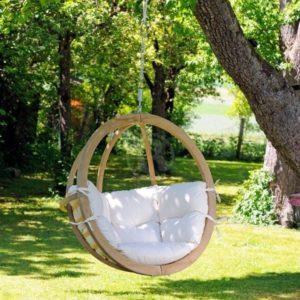 Подвесное кресло-гнездо из дерева