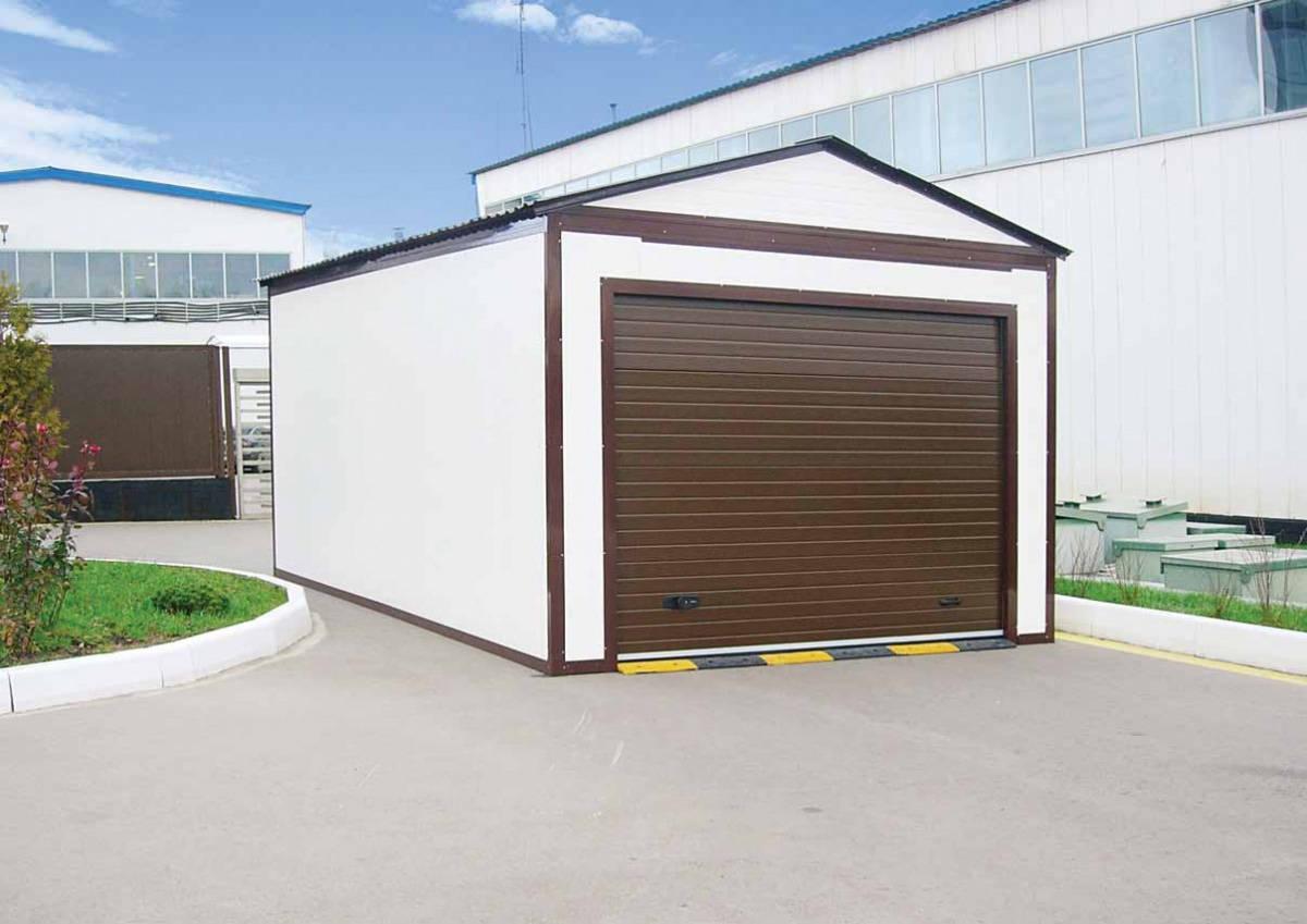 Как сделать легкий гараж 99