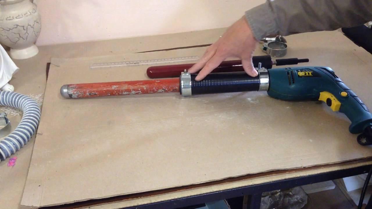 Как сделать глубинный вибратор в домашних условиях