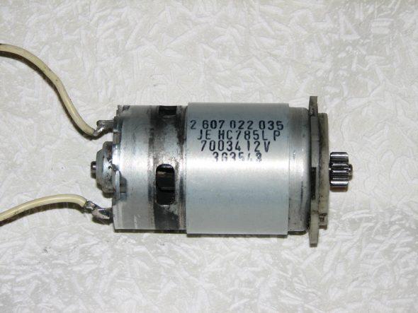 Двигатель шуруповёрта
