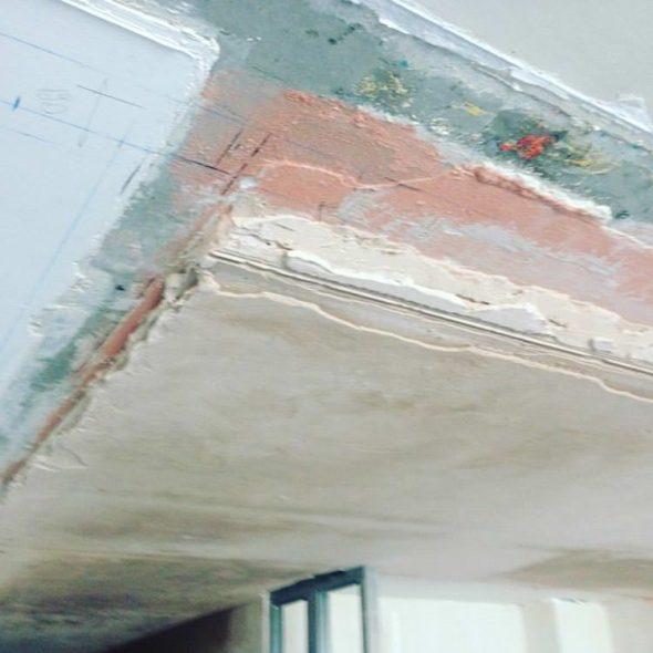 Оценка состояния поверхности потолка
