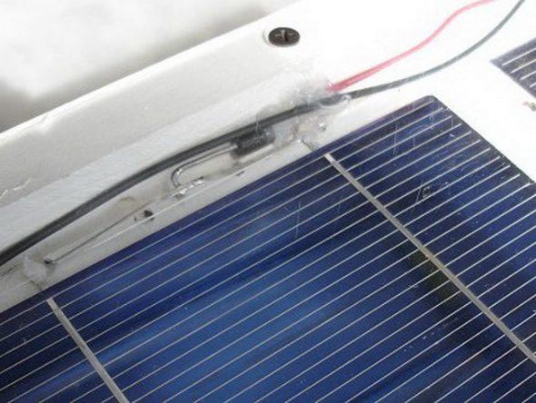 Сборка солнечной панели