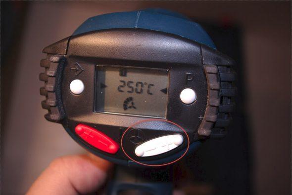 Термофен с регулировкой объёма нагнетаемого воздуха