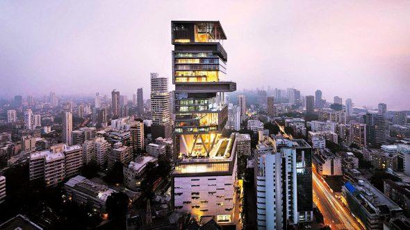 Многоэтажный дом в Мумбае