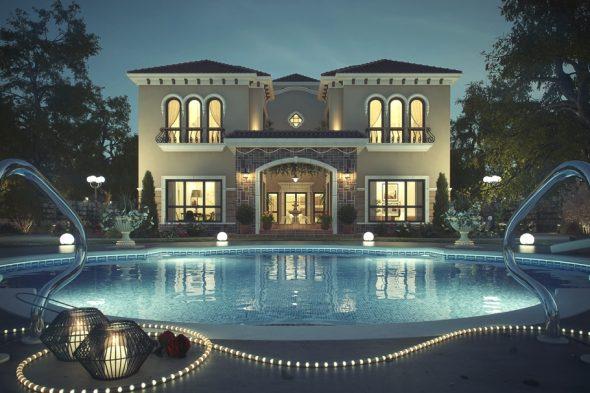 Частная вилла в Дубае