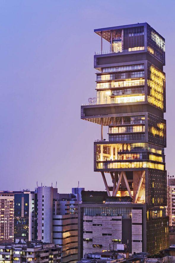 Многоэтажный дом в Мумбаи