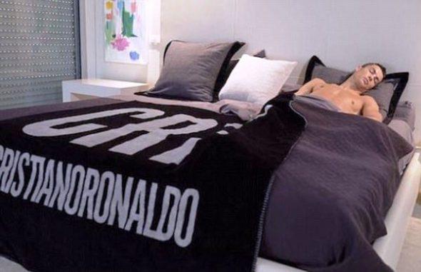 Спальня в доме Криштиану Роналду