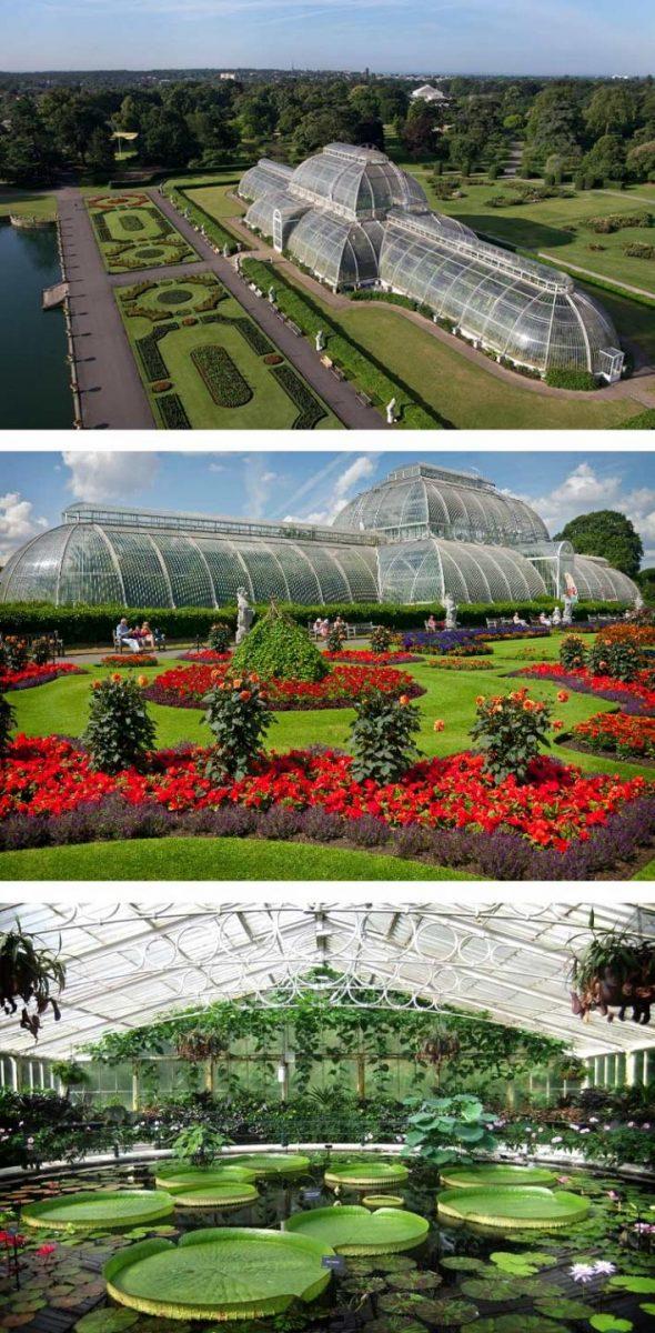 Парк и оранжерея в Великобритании