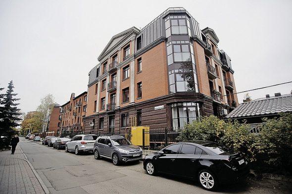 Жилой дом с апартаментами в Москве