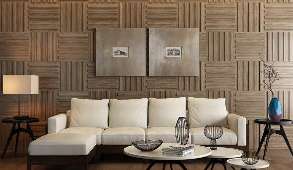 Стеновые панели в виде плит