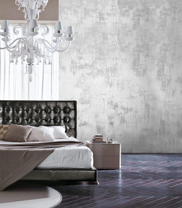 Стена, выкрашенная фактурной краской