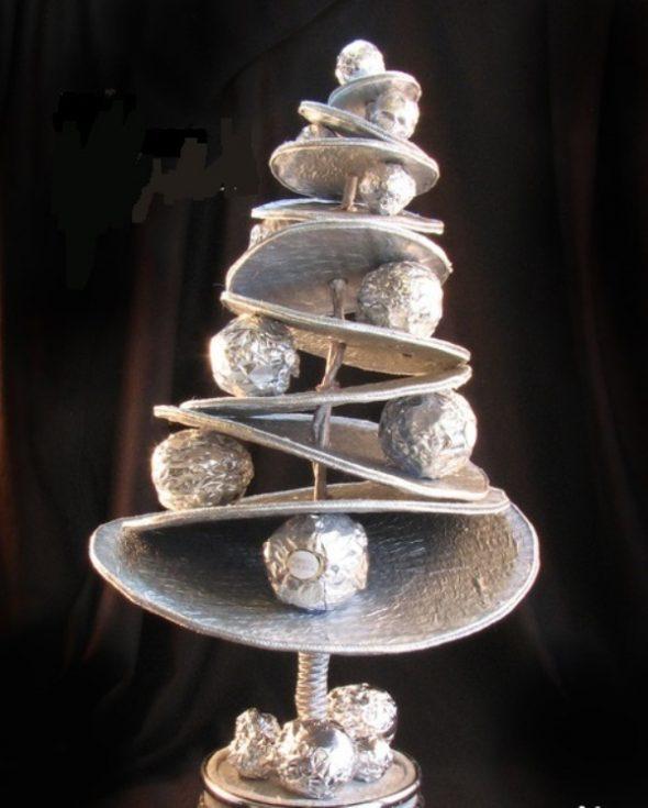 Альтернатива новогодней елке из конфет