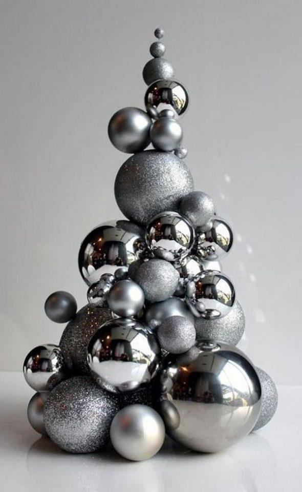 Альтернатива новогодней елке из шаров