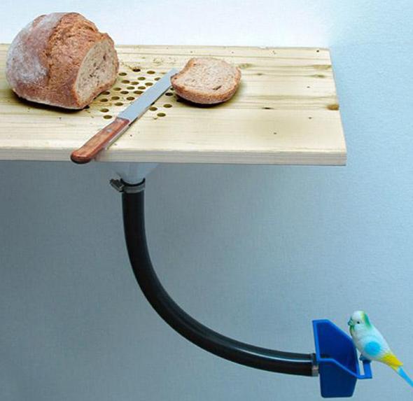 Приспособление для сбора хлебных крошек