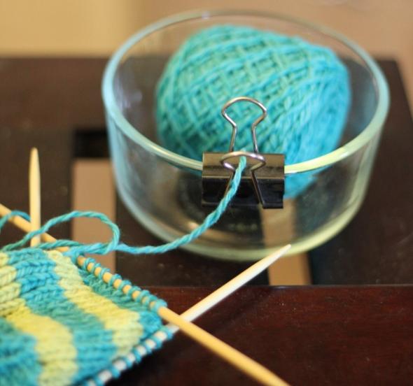 Приспособление для вязания