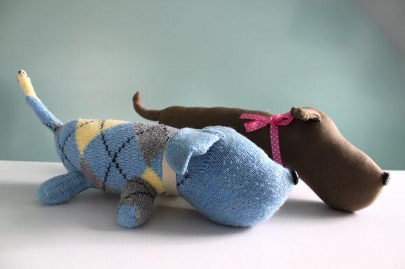 Собачки из носков