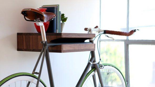Крепление велосипеда на стенку